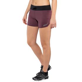 """inov-8 Trail 4"""" Shorts Dam purple/ black"""